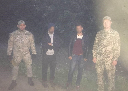 Закарпатські прикордонники затримали двох нелегальних мігрантів з Іраку
