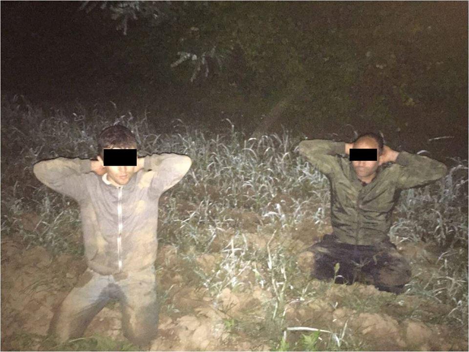 На Закарпатті пострілами зупиняли двох нелегалів-афганців