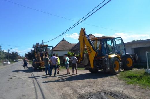 На Берегівщині розпочато ремонт дороги обласного значення «Берегово – Бадалово – Вари – Боржава»