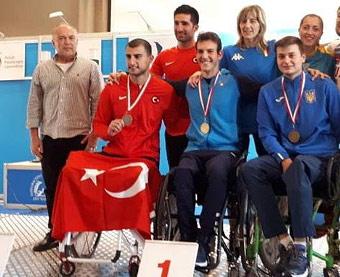 Ужгородець виборов срібло і дві бронзи на Чемпіонаті світу з фехтування на візках