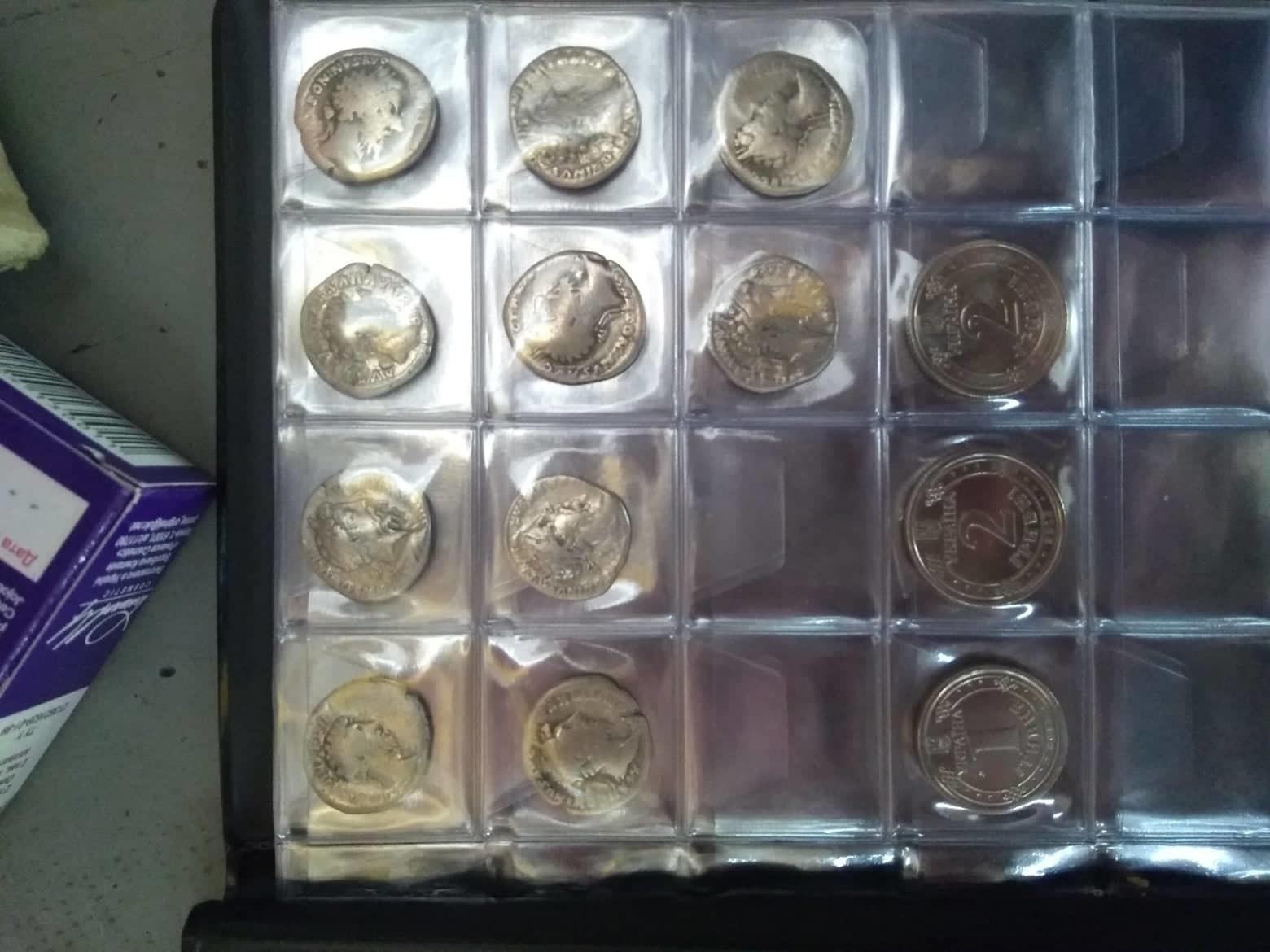 Закарпатські правоохоронці завадили вивезенню за кордон стародавніх срібних монет