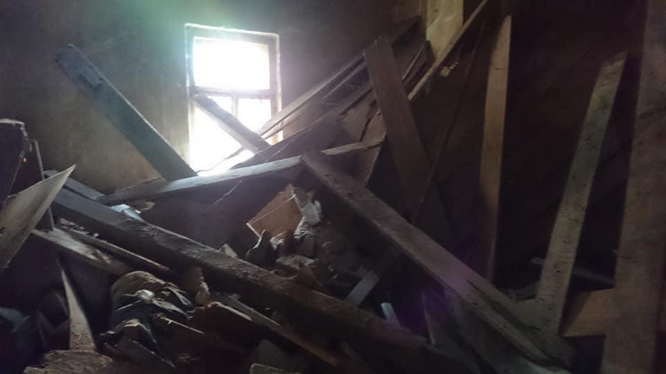 В Ужгороді чоловіка придавила стеля (фото)