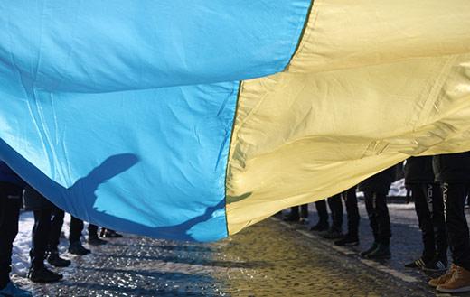 Береги Ужа об'єднають 100-метровим прапором України