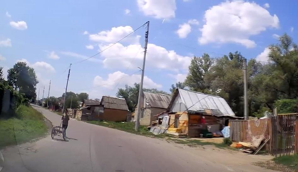 До ужгородського табору веде пристойний автобан (відео)