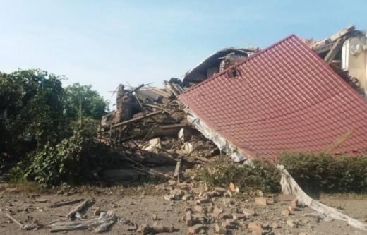 На Берегівщині через вибух у будинку постраждав чоловік