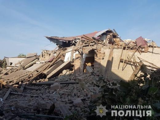 Поліція встановлює обставини вибуху будинку на Берегівщині (ФОТО)