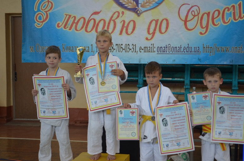 Юні дзюдоїсти з Ужгорода успішно виступили на всеукраїнському турнірі