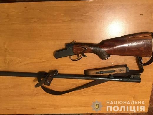 Мешканець Тячівщини незаконно зберігав удома дві рушниці