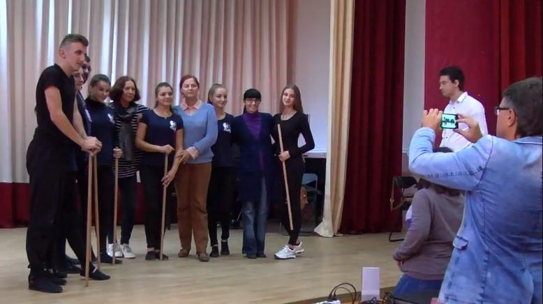 Колектив Ужгородського коледжу культури і мистецтв зустрівся з корифеями театру (відео)