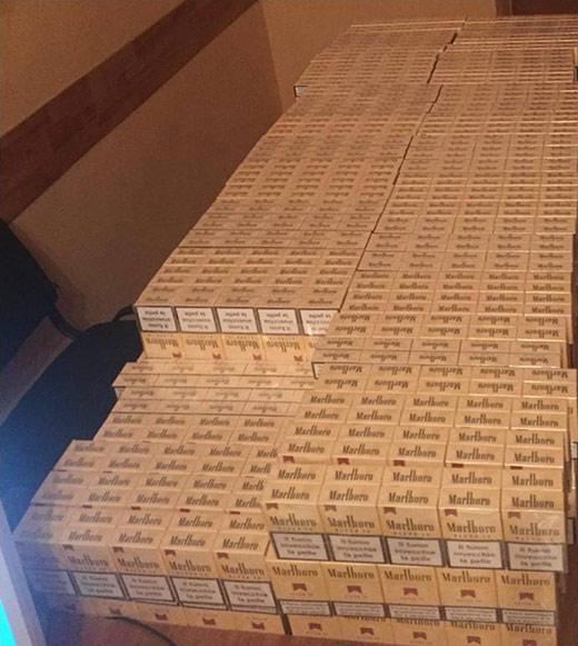 Закарпатські прикордонники завадили черговій спробі контрабанди цигарок