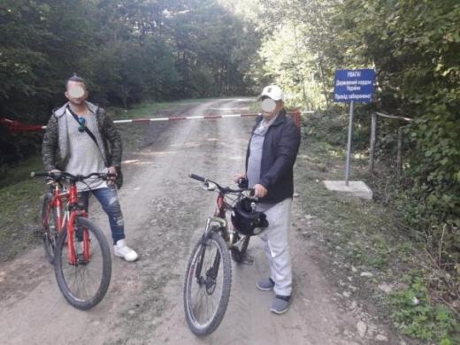 На Закарпатті нелегали намагалися перетнути кордон на велосипедах
