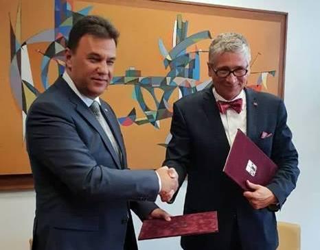 Закарпаття та Мораво-Сілезький край у Чехії підписали договір про співпрацю (ФОТО)