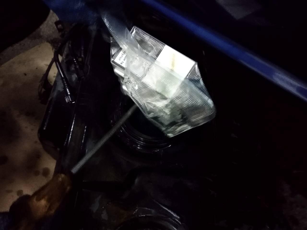 На Закарпатті вилучили контрабандні сигарети та мікроавтобус