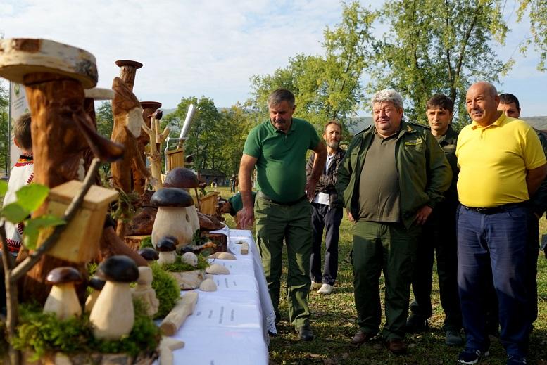 Вперше на Закарпатті відбулась спартакіада лісівників (фото)