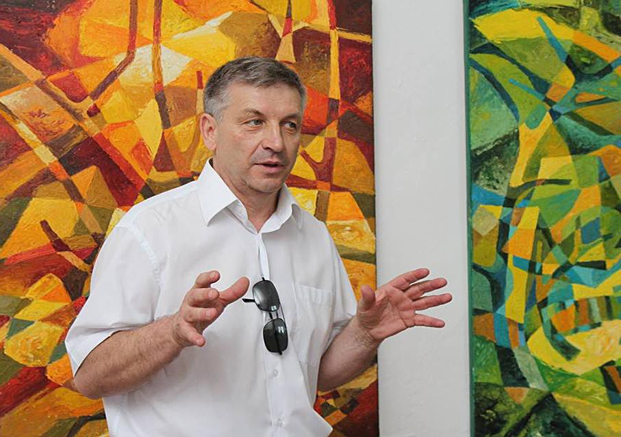 В ужгородському скансені художник Василь Бобіта презентує свій творчий доробок