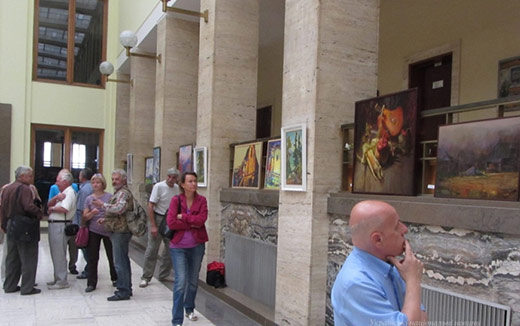 Завтра у приміщенні Закарпатської ОДА відкриють виставку живопису
