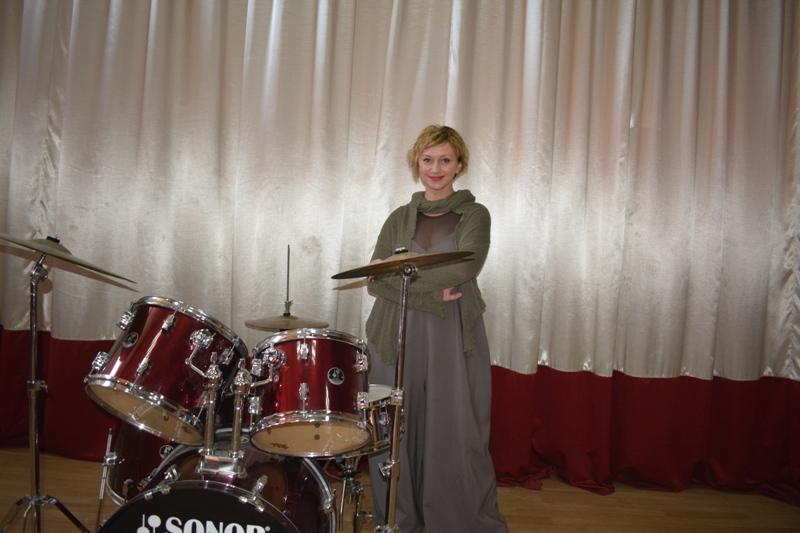 Відома акторка відвідала рідний Ужгородський коледж культури і мистецтв (фото)