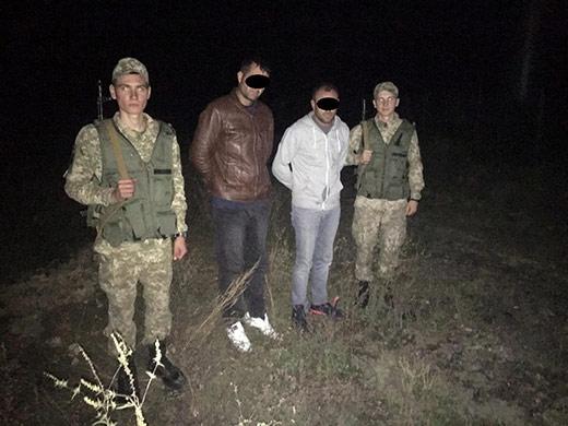 Закарпатські прикордонники затримали двох турків-нелегалів