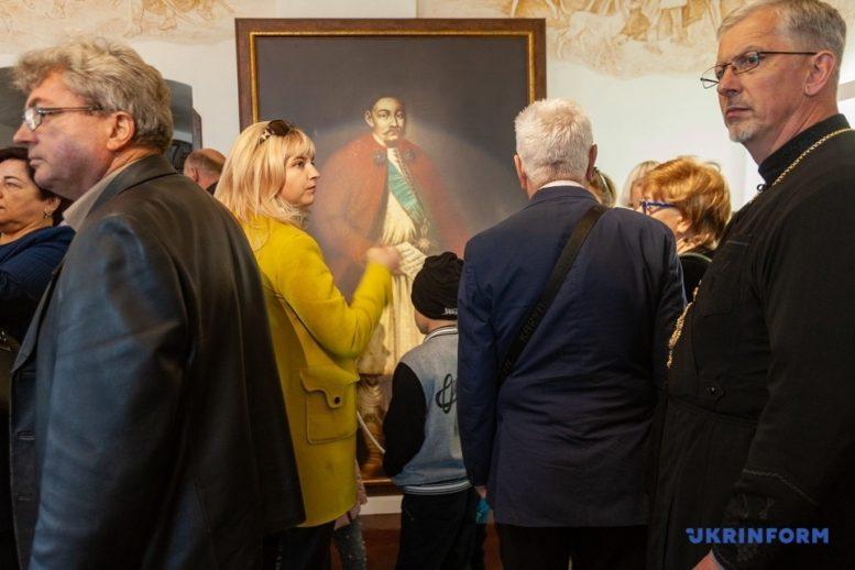 Посол Литви відкрив у Мукачівському замку кімнату князя Корятовича (фото)