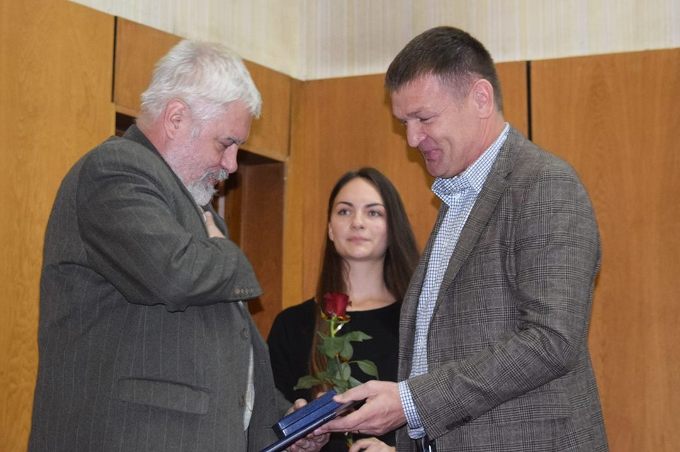Відомий історик з Ужгорода Сергій Федака нагороджений Грамотою Верховної Ради України (фото)