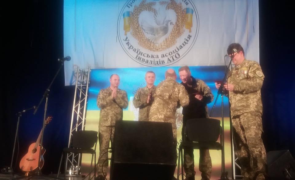 Закарпатські захисники України взяли участь у святковому військово-патріотичному заході в Києві (фото)
