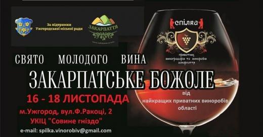 """В Ужгороді відбудеться свято молодого вина """"Закарпатське божоле"""""""