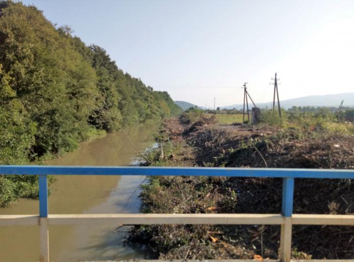 На Ужгородщині у дериваційному каналі в Оноківцях зафіксували перевищення концентрації нафтопродуктів