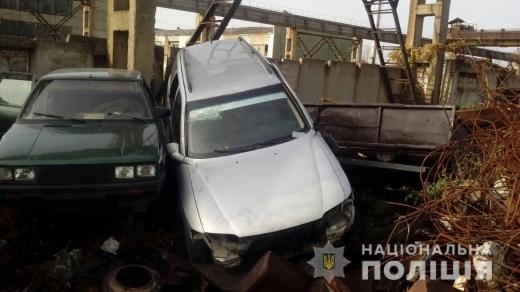На Мукачівщині чоловік поцупив чуже авто і здав на металобрухт