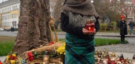 Закарпаття вшанувало пам'ять жертв Голодомору (ФОТО)