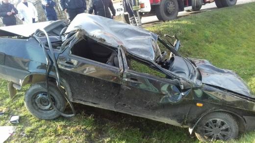 У ДТП на Свалявщині постраждали двоє людей