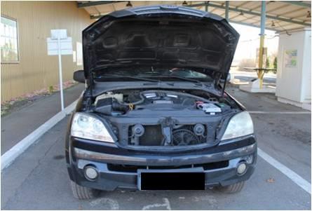 Закарпатські прикордонники викрили спробу незаконного переміщення автомобіля