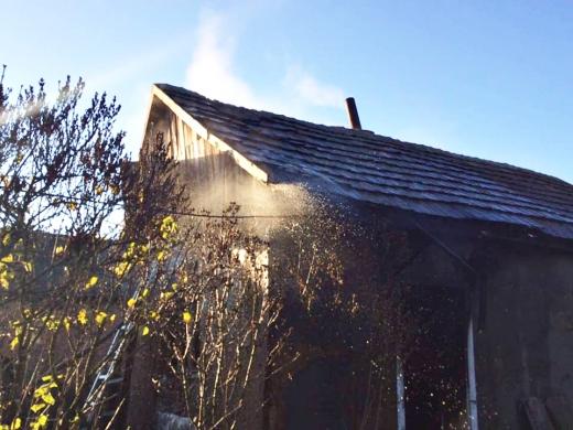 На Виноградівщині під час пожежі виявили тіла двох людей