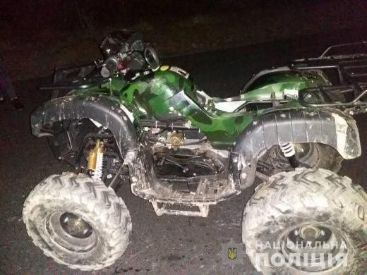 На Рахівщині перекинувся квадроцикл – водій загинув на місці