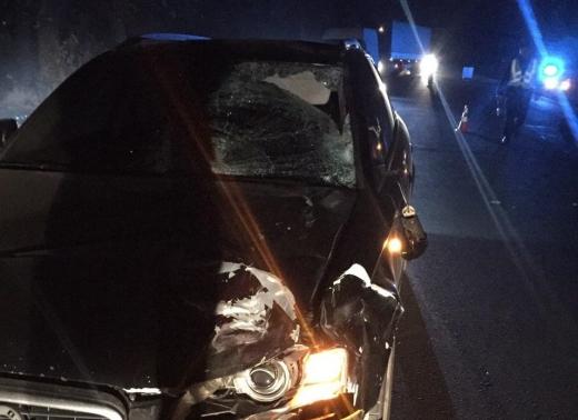 На Виноградівщині водій авто збив насмерть велосипедиста