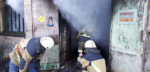 На Ужгородщині сталася пожежа у зварювальному цеху