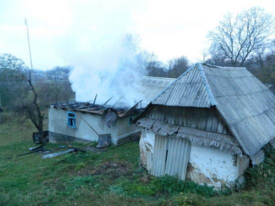 На Іршавщині пожежа забрала життя чоловіка