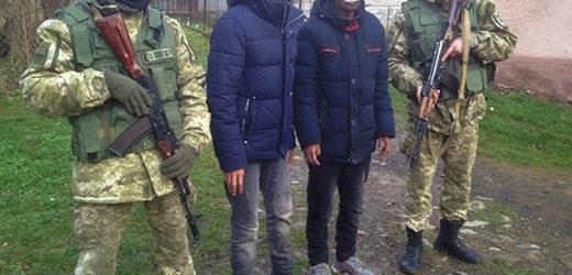 """Закарпатські прикордонники затримали двох нелегальних """"мандрівників"""""""