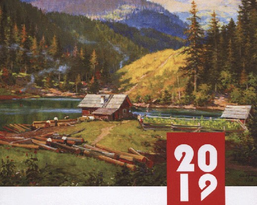 Закарпатська обласна бібліотека видала календар пам'ятних дат на 2019 рік