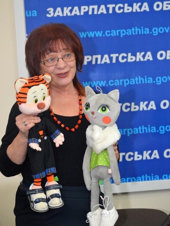 Мегапозитивна презентація дитячих книжок у приміщенні Закарпатської ОДА