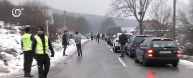 Черга на переході Убля – Малий Березний сягає трьох кілометрів (відео)