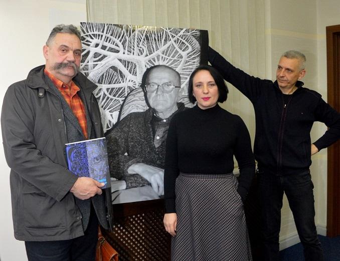 У Закарпатській ОДА презентували видання про видатного закарпатського художника-авангардиста Павла Бедзіра