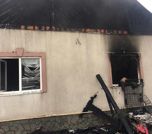 Під час пожежі у житловому будинку на Іршавщині загинула жінка