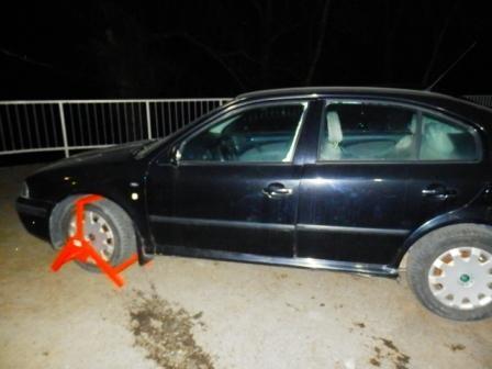 Розшукувана Інтерполом автівка знайшлася на Закарпатті