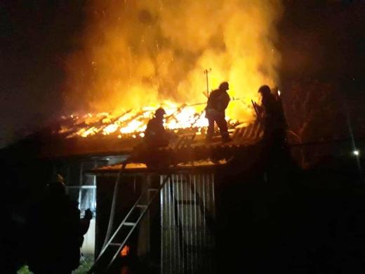 В Мукачеві та районі горіли житлові будинки