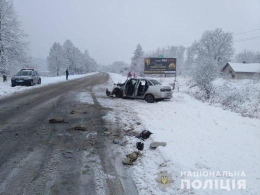 На Тячівщині сталася ДТП з п'ятьма постраждалими