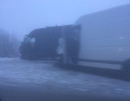 На Іршавщині зіткнулися два мікроавтобуси