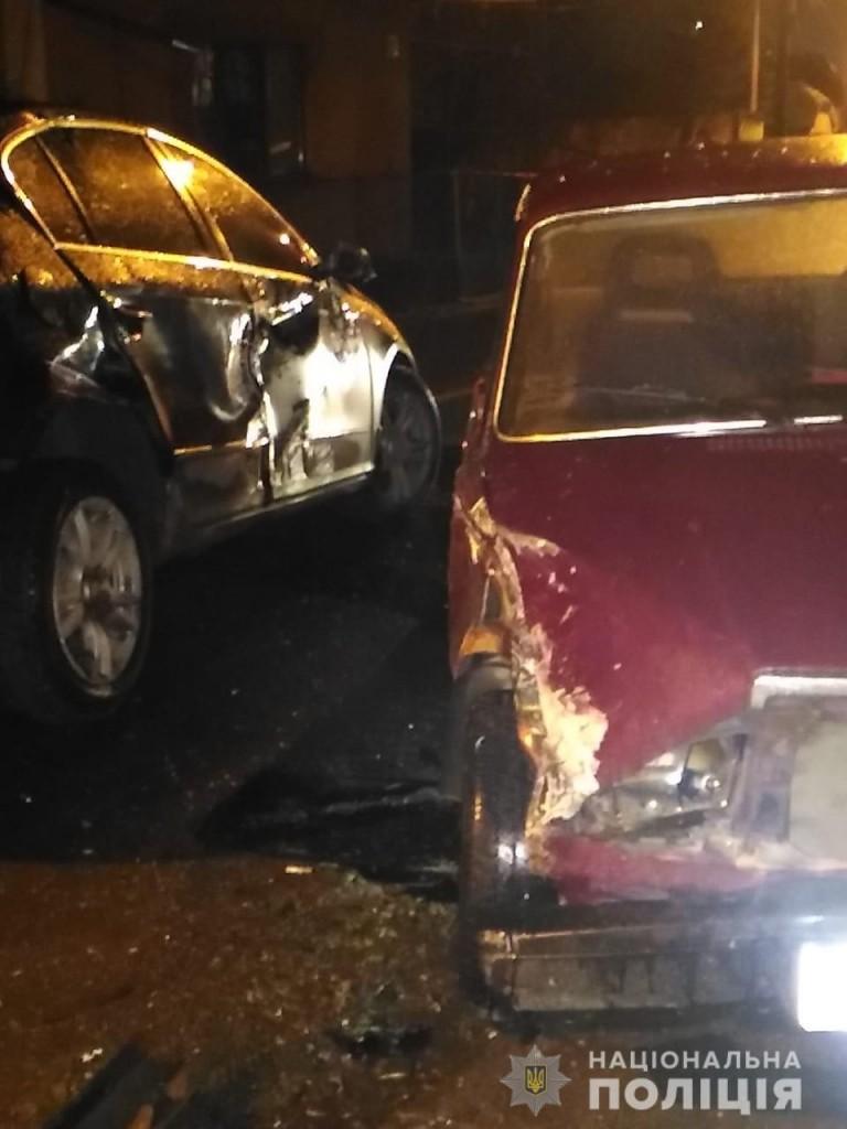 У Виноградові зіткнулися три автомобілі – є загиблий і травмовані