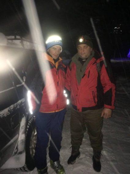 Закарпатські рятувальники знайшли туриста-іноземця, який заблукав у Карпатах