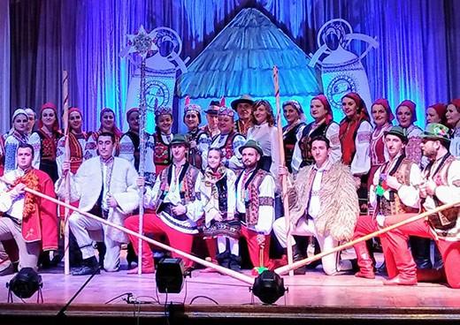 Закарпатський народний хор дасть різдвяний концерт в Ужгороді