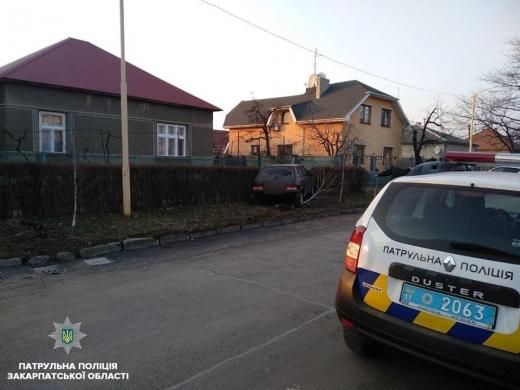 В Ужгороді у водія, який скоїв ДТП, виявили 2.99 проміле алкоголю в крові